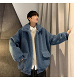 KOREAN STYLE SOFT WARM MEN JACKET-Cosmique Studio-Aesthetic-Outfits