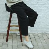 KOREAN STYLE ULZZANG HIGH WAIST PANTS - Cosmique Studio