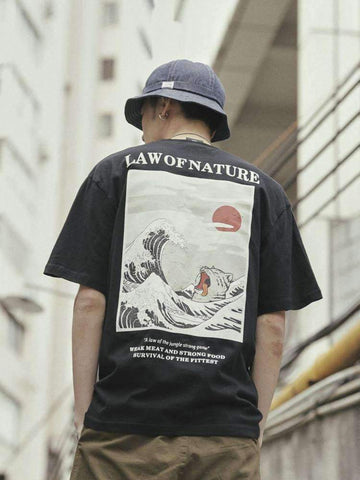 LAW OF NATURE TEE-Cosmique Studio