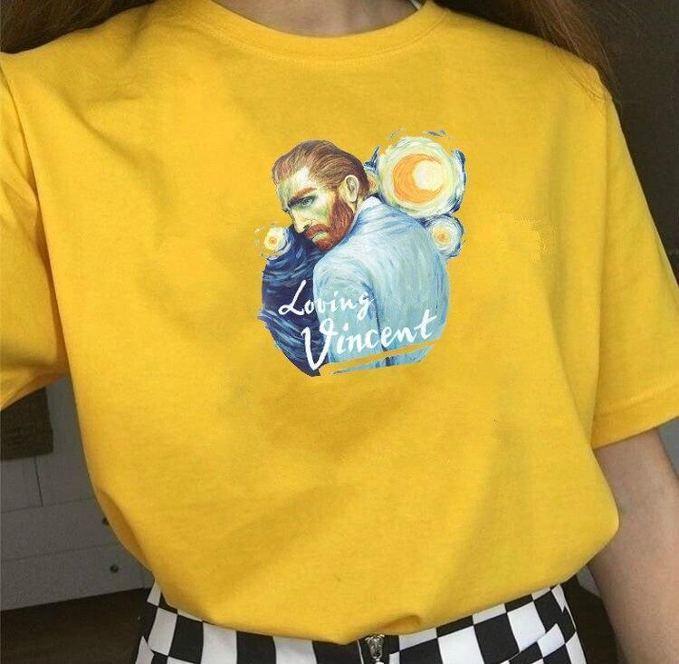 LOVING VINCENT VAN GOGH TEE-Cosmique Studio