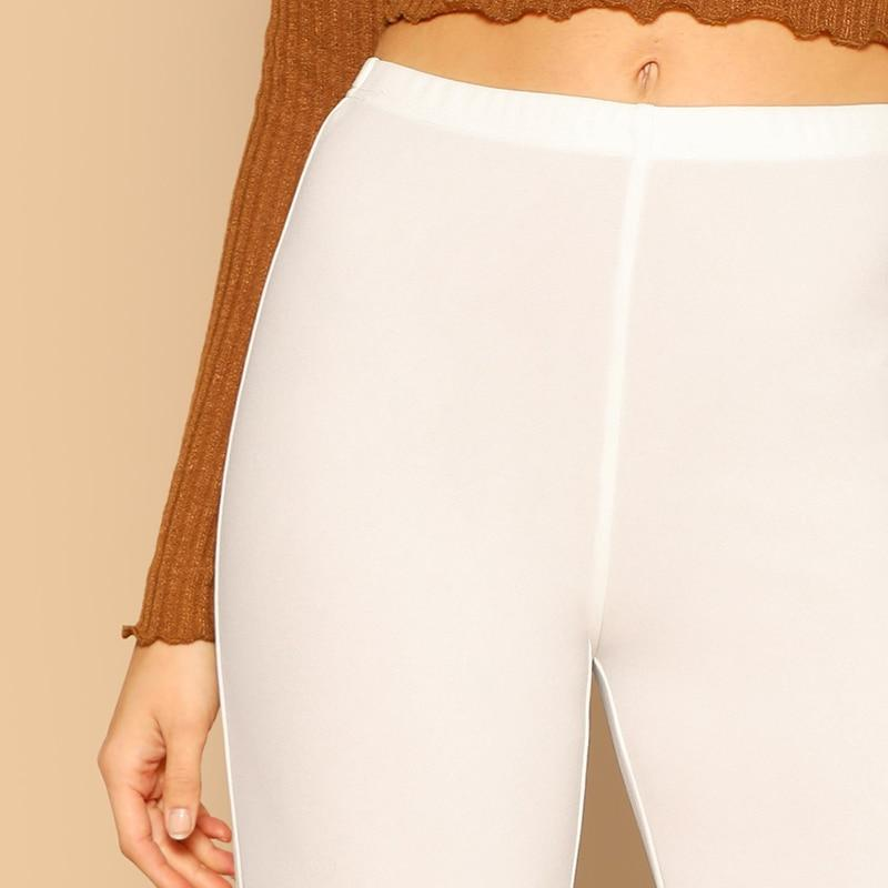 OFFICE STYLE ELEGANT WHITE PANTS-aesthetic-clothing-cosmiquestudio.com