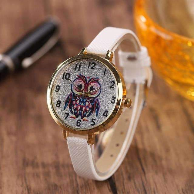OWL DESIGN QUARTZ WRIST WATCHES-Cosmique Studio