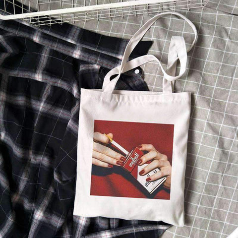 RED SMOKING CLOTH BAG-Cosmique Studio