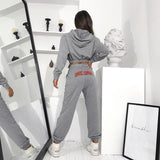 ROCK MORE CASUAL TWO PIECE HARAJUKU SWEATSUITE - Cosmique Studio