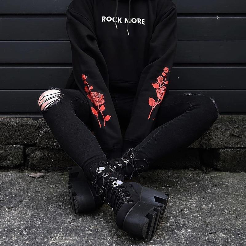ROCK MORE HOODIE-Cosmique Studio