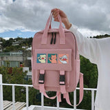 SCHOOL STYLE WATERPROOF BACKPACK - Cosmique Studio