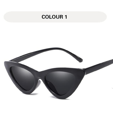 SEXY RETRO COOL GIRL SUNGLASSES - Cosmique Studio