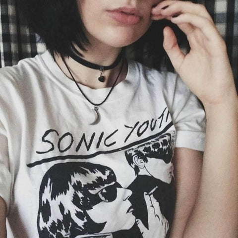 SONIC YOUTH TEE-Cosmique Studio
