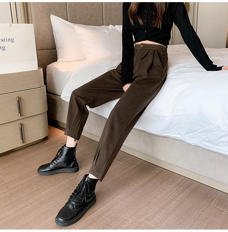 STREETWEAR LOOSE HIGH WAIST PANTS