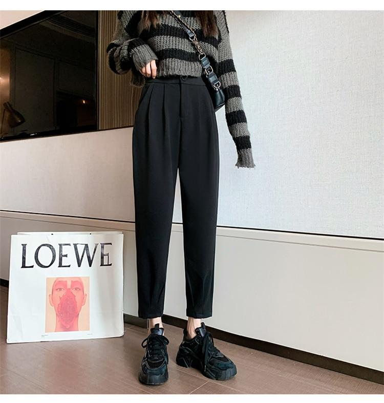 STREETWEAR LOOSE HIGH WAIST PANTS - Cosmique Studio - Aesthetic Outfits