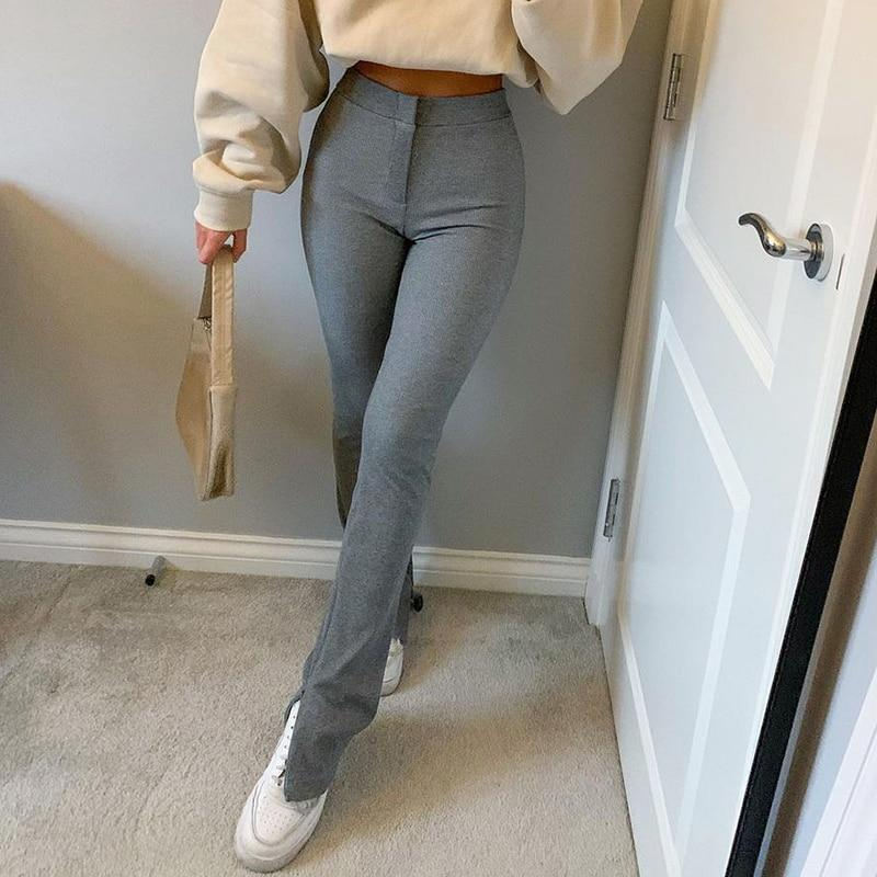 STREETWEAR SIDE SLIT SWEATPANTS - Cosmique Studio - Aesthetic Outfits