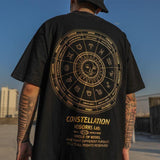 SUMMER HIP HOP BLACK MEN TEE - Cosmique Studio
