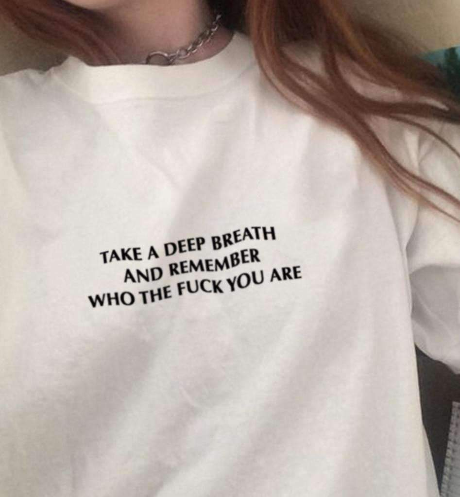 TAKE A DEEP BREATH SWEATSHIRT-Cosmique Studio