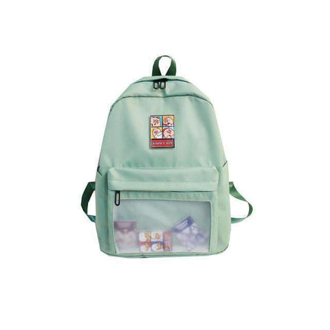 TRANSPARENT WATERPROOF SCHOOL BACKPACK-Cosmique Studio