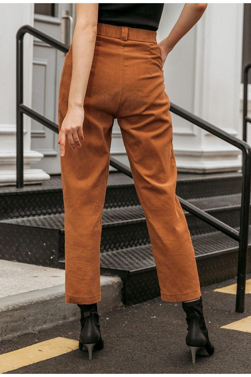 TUMBLR AESTHETIC CORDUROY PANTS - Cosmique Studio - Aesthetic Outfits
