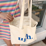 UGH CLOTH BAG-Cosmique Studio - Aesthetic Clothing