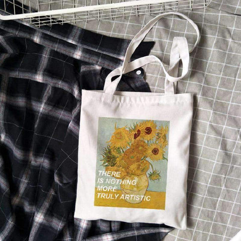VAN GOGH CLOTH BAG-Cosmique Studio