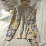VAN GOGH SWEATER-Cosmique Studio-aesthetic-clothing-store