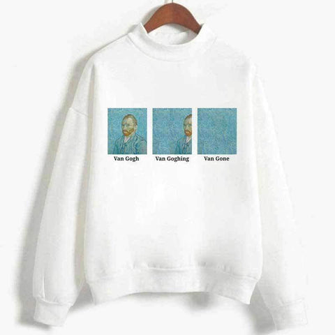 VAN GOGH VAN GONE SWEATSHIRT-Cosmique Studio