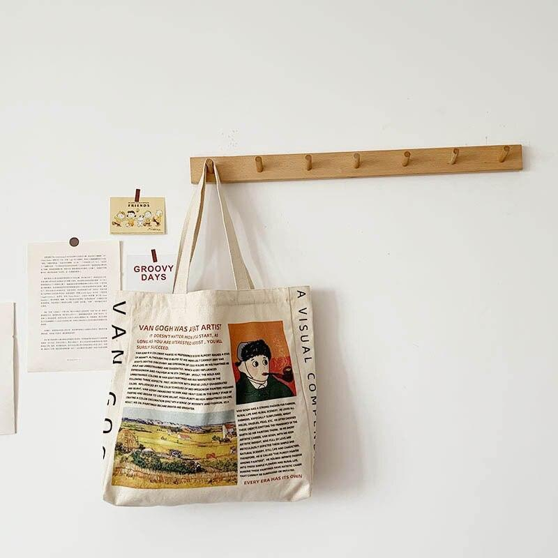 VINCENT VAN GOGH CLOTH BAG-Cosmique Studio - Aesthetic Clothing