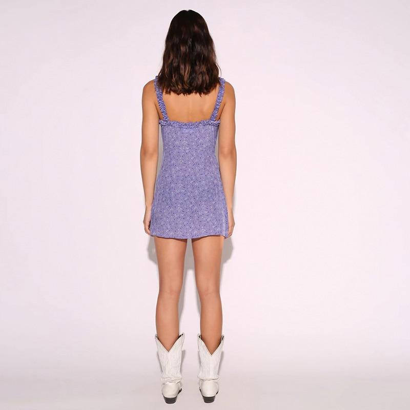 VSCO GIRL BODYCON MINI DRESS - Cosmique Studio - Aesthetic Outfits