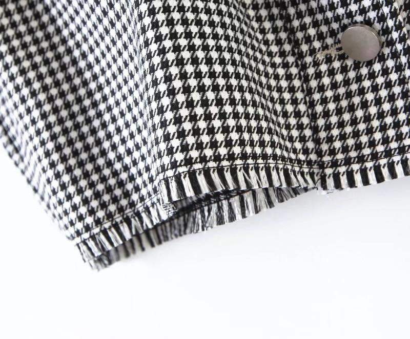 VSCO GIRL PLAID JACKET - Cosmique Studio - Aesthetic Outfits