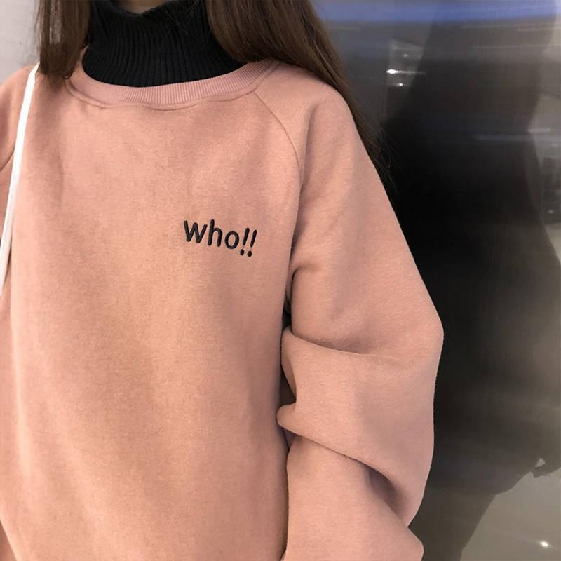 WHO SWEATSHIRT-Cosmique Studio