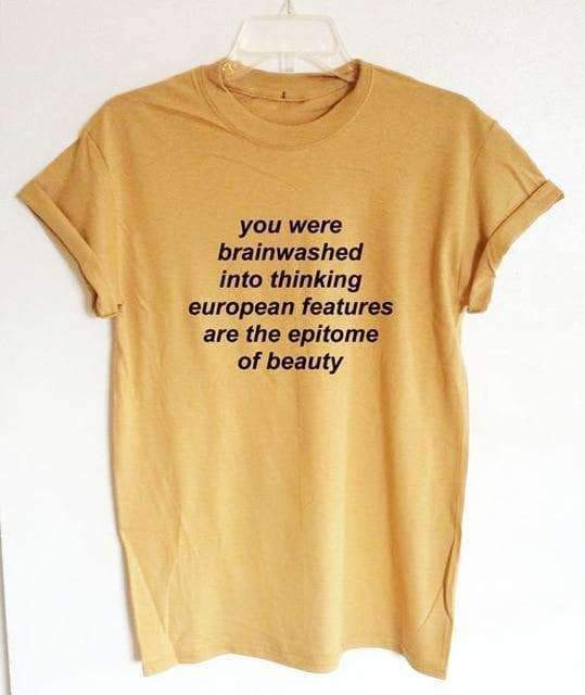 YOU WERE BRAINWASHED TEE-Cosmique Studio