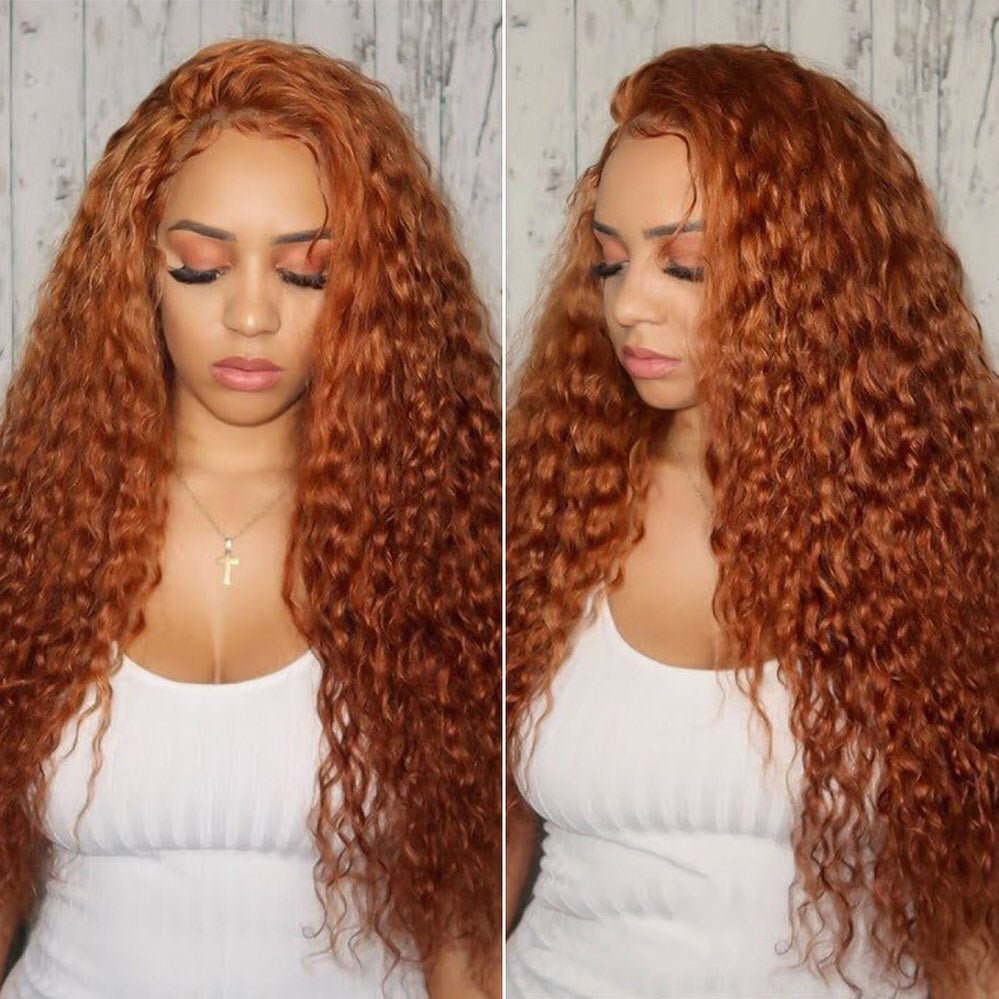 Ginger Orange Lace Front
