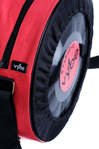Vybe bag  (Black & Red)