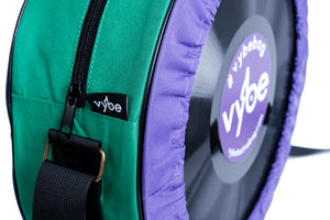 Vybe bag (Purple & Green)