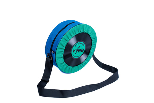 Vybe bag (Green & Blue)