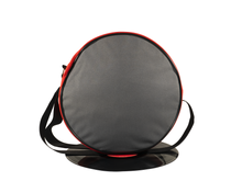 Load image into Gallery viewer, Vybe bag (Grey & Red)
