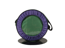 Load image into Gallery viewer, Vybe bag (Purple & Dark Green)