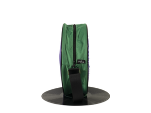 Vybe bag (Purple & Dark Green)