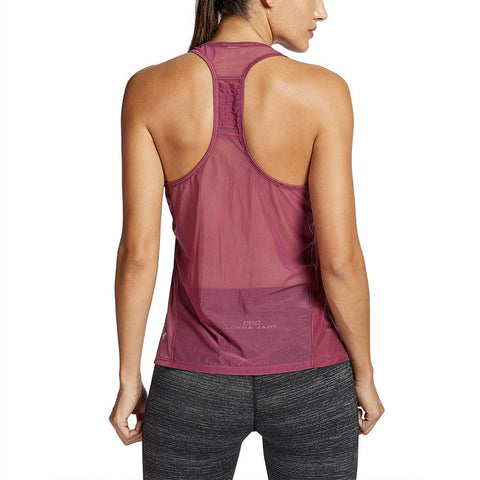 Women's Tops Activewear Mesh Workout Sports Lightweight