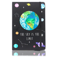 "Load image into Gallery viewer, Space ""The Sky is the Limit"" Notebook"