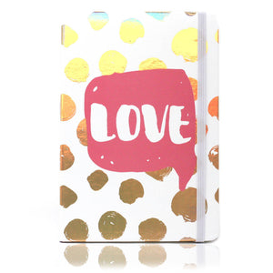 Love Foil Notebook