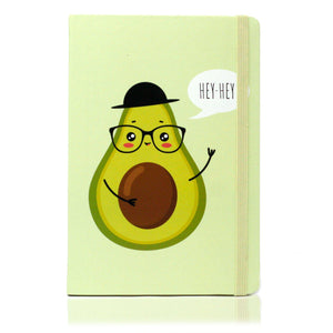 Avacado Notebook  8.75 Fruit, Notebook, on the go