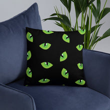 Load image into Gallery viewer, Cats Eye - Standard Cushion  21.00 Animal, Cushion