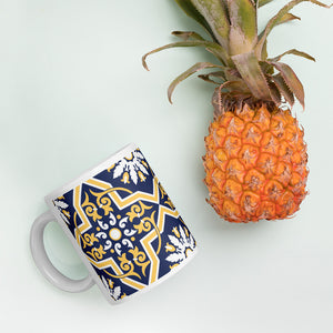 Yellow Tile - Ceramic Mug