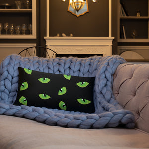 Cats Eye - Standard Cushion  21.00 Animal, Cushion