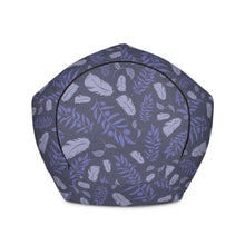 Load image into Gallery viewer, Blue Feather - Bean Bag Chair Cover  60.00 animal, Beanbag, home office, office