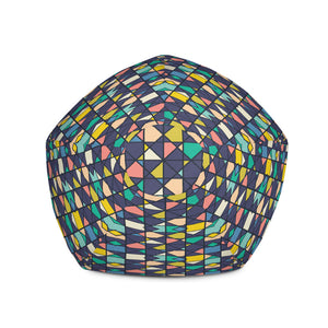 Geometric Tile - Bean Bag Chair Cover  60.00 Beanbag, home office