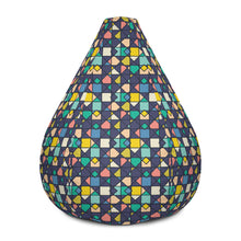 Load image into Gallery viewer, Geometric Tile - Bean Bag Chair Cover  60.00 Beanbag, home office