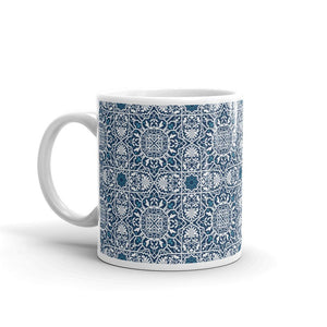 Arabesque - Ceramic Mug  10.00 moroccan, mug