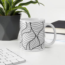 Load image into Gallery viewer, Wave Doodle - Ceramic Mug
