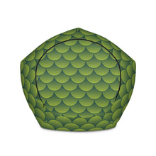 Load image into Gallery viewer, Green Dragon - Bean Bag - Filled or Cover