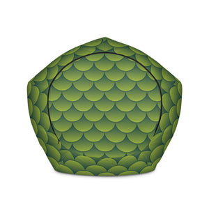 Green Dragon - Bean Bag - Filled or Cover