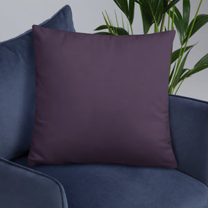 Purple Spirograph - Cushion